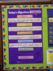 Our Class Objectives